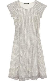 Chuma embellished mesh mini dress