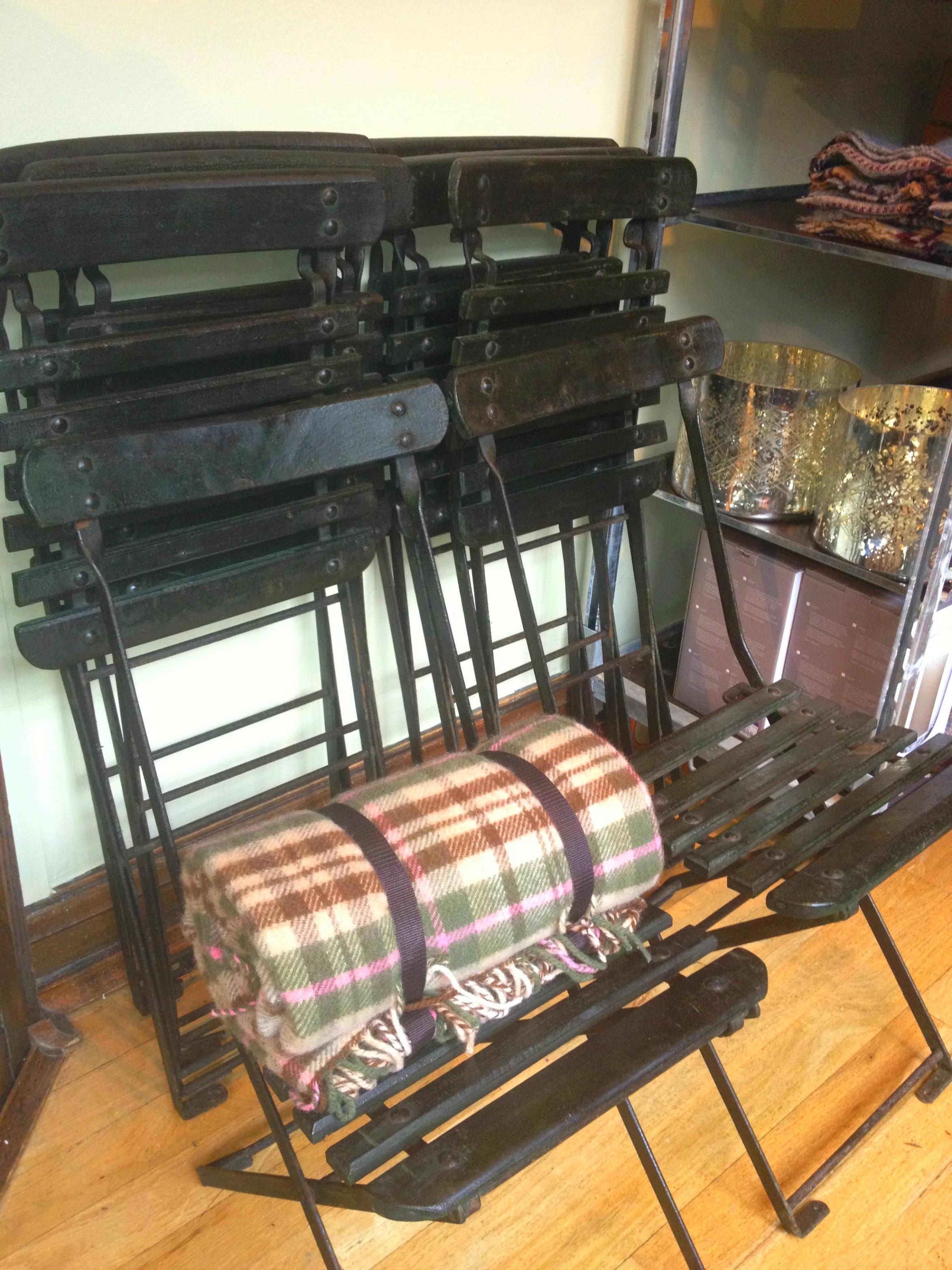 Drew Pritchard chairs