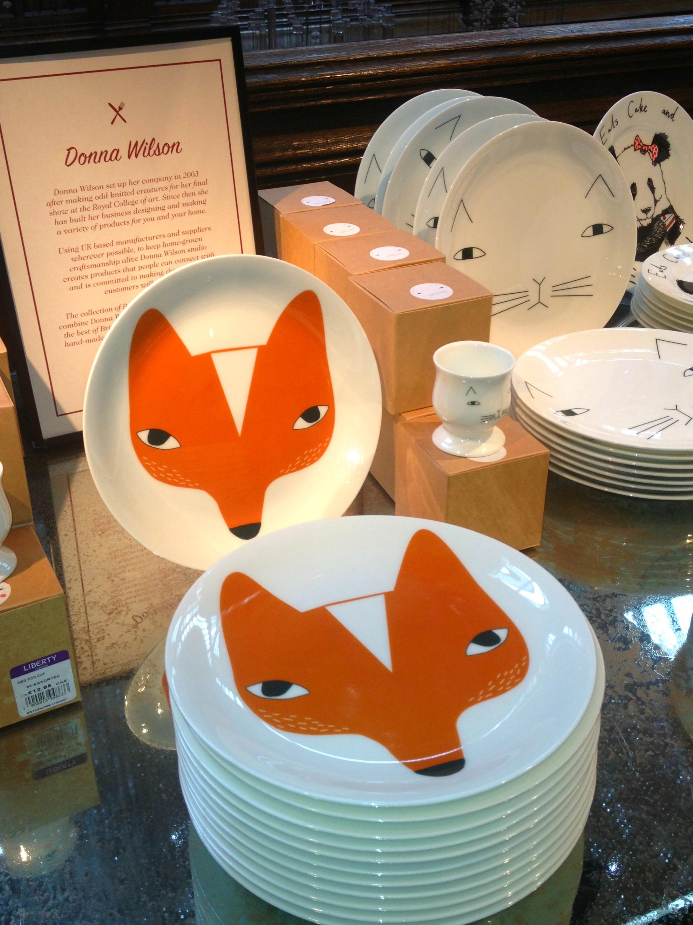 donna wilson plates