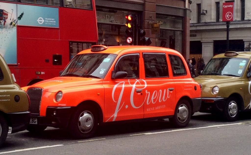J.Crew cab