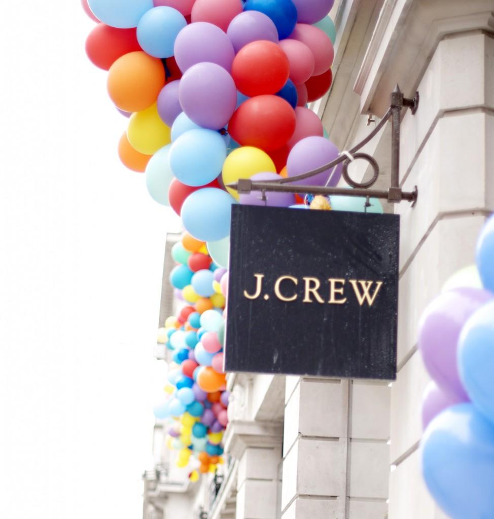 J.Crew London store