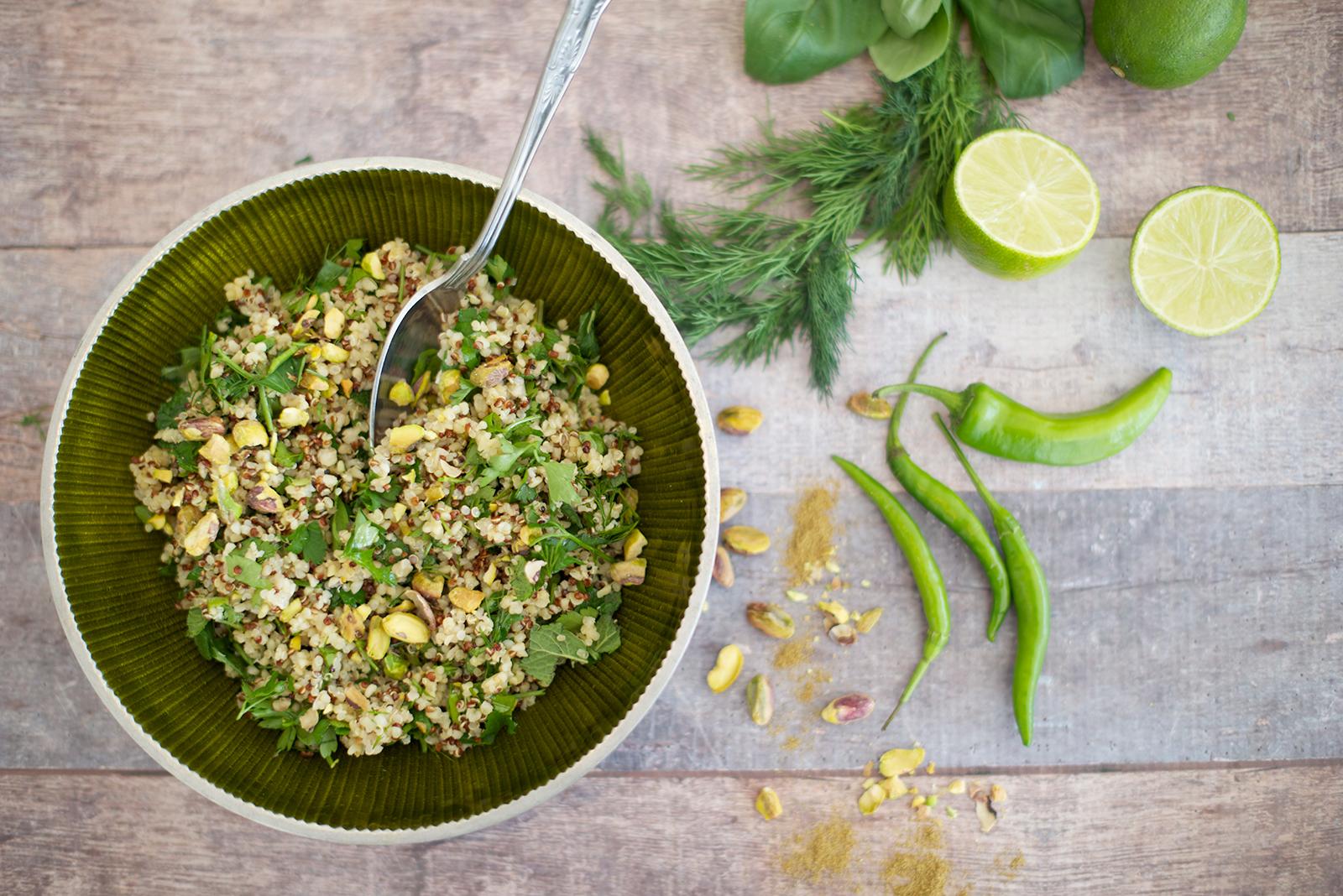herb quinoa