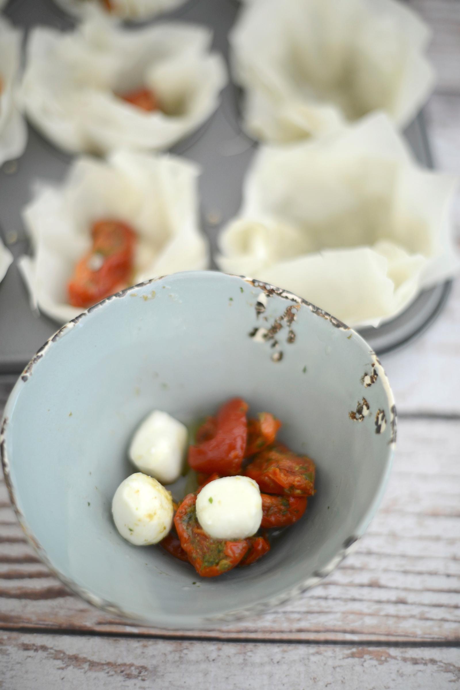 summer tartlets recipe