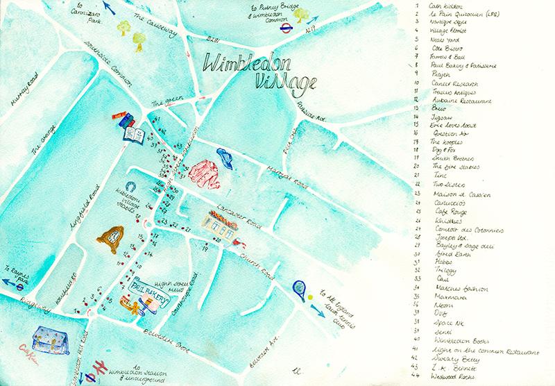 wimbledon shopping guide