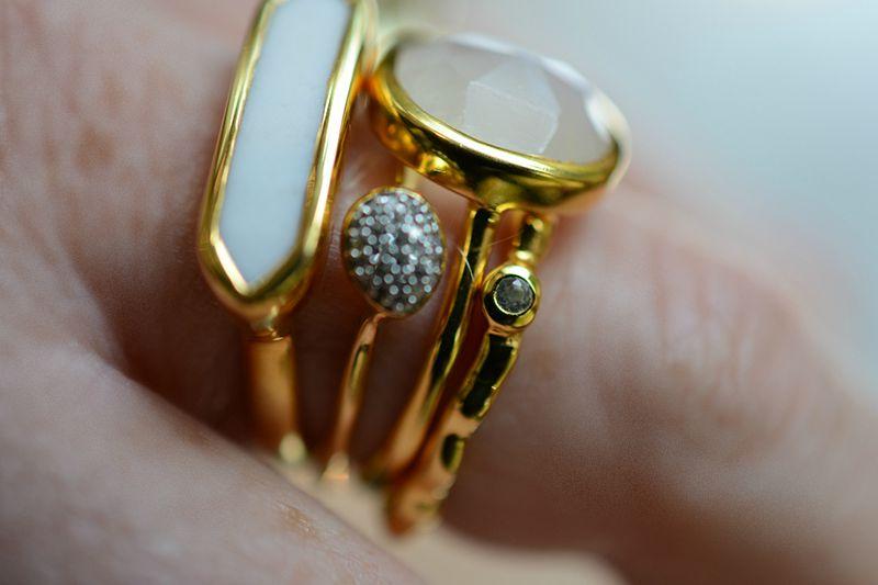 monica vinader stacking rings