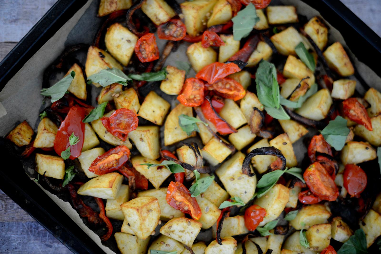 roasted vegetable bake recipe
