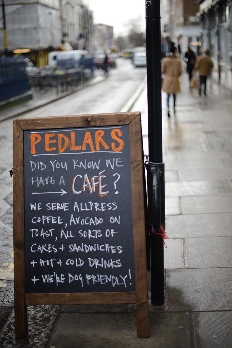 pedlars cafe