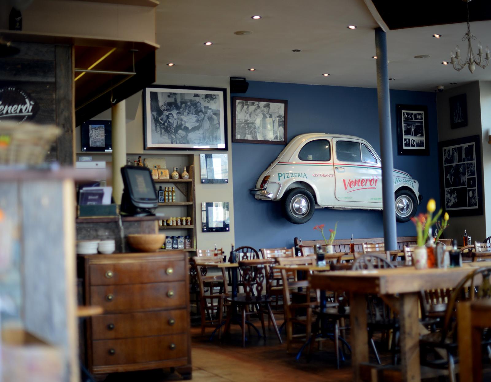 clapton shopping guide with lifestyle bloggers sara delaney and julia rebaudo featuring venerdi restaurant