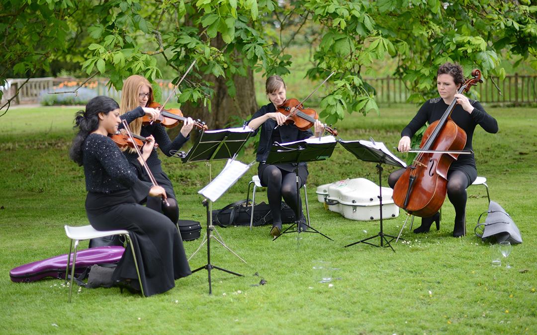 the white company summer entertaining event at eltham palace