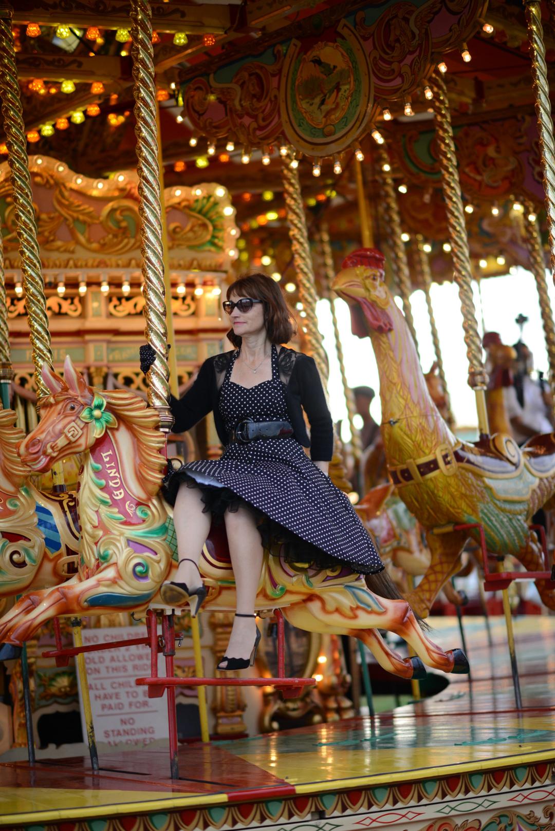 goodwood revival 2016 fun fair photograph by sara delaney