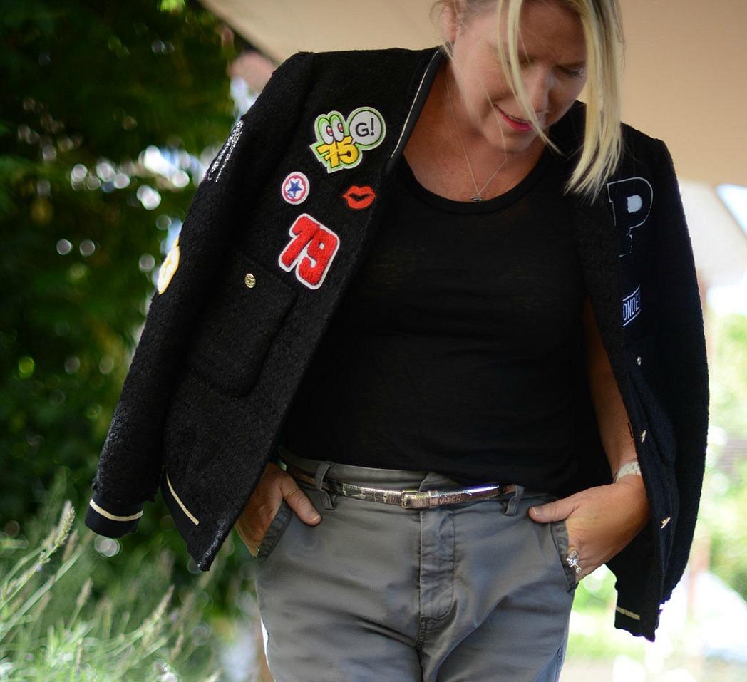 statement bomber jacket from zara worn by fashion blogger and stylist sara delaney