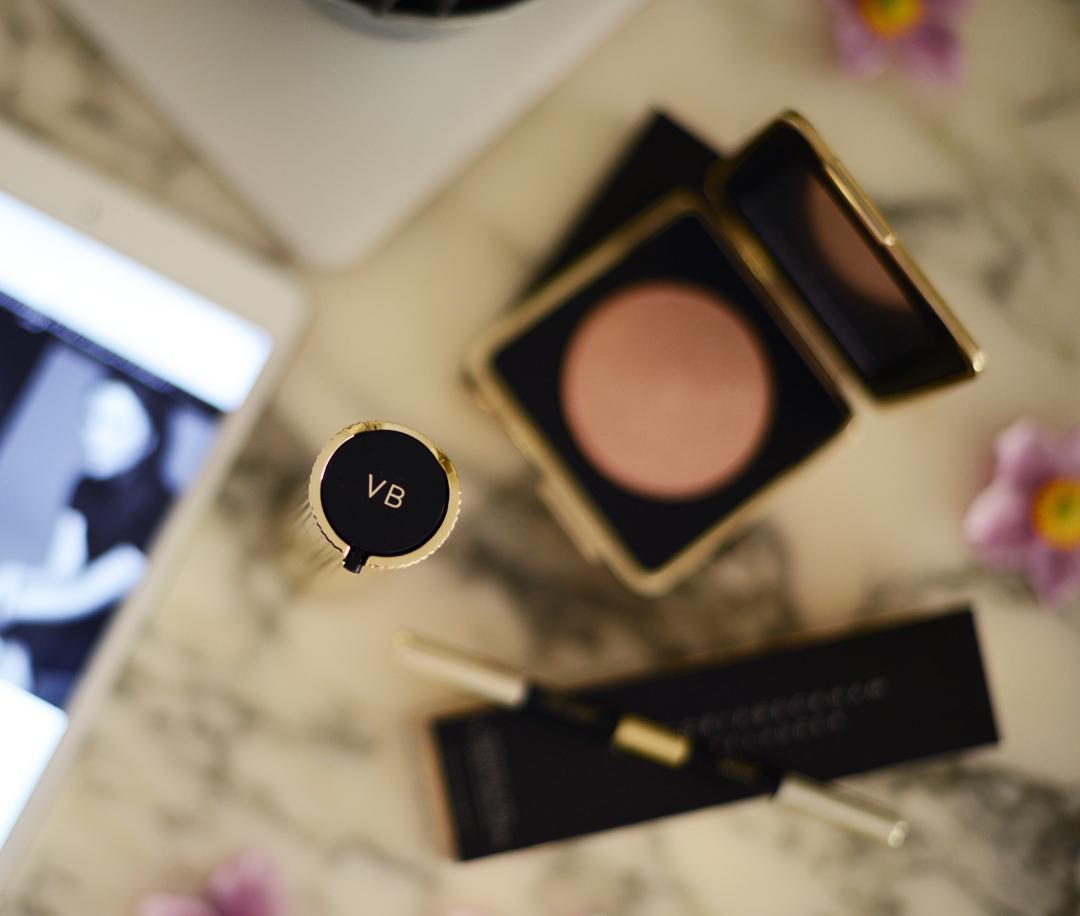 victoria beckham x estee lauder makeup collaboration photographed by sara delaney
