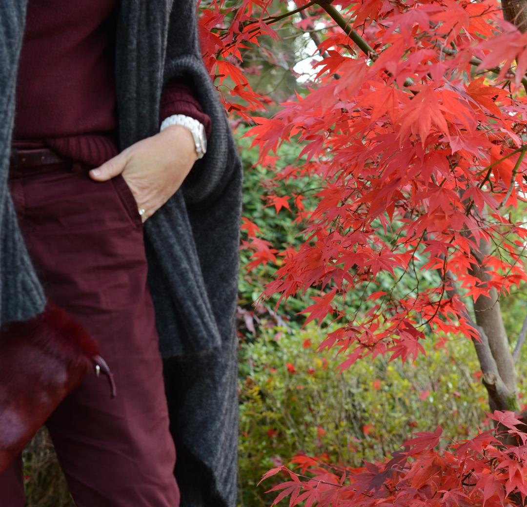 monochromatic dressing worn by stylist and fashion blogger sara delaney