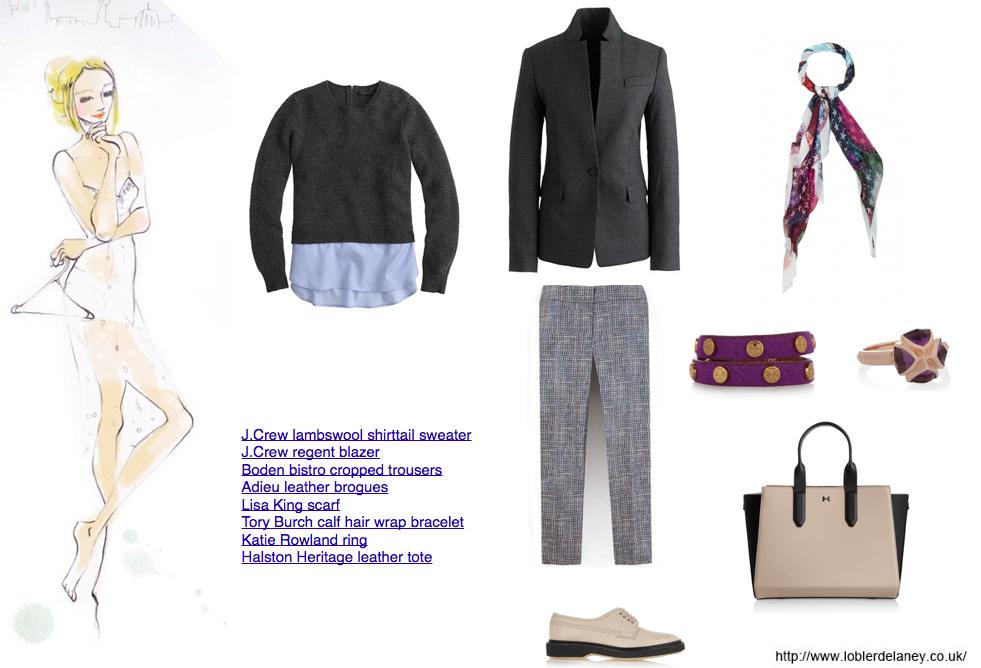 shirttail sweater
