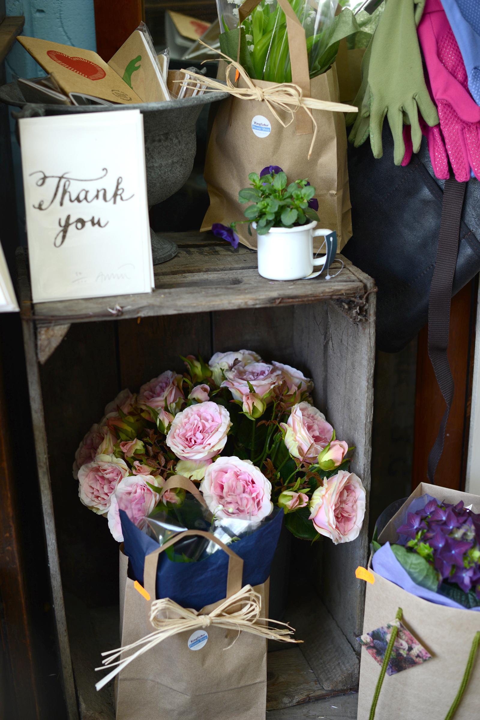 kingfisher farm flower shop
