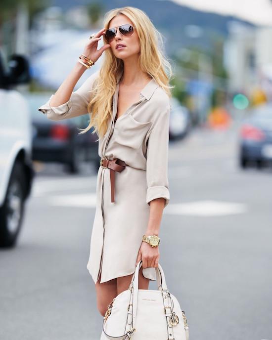 shirt dress style