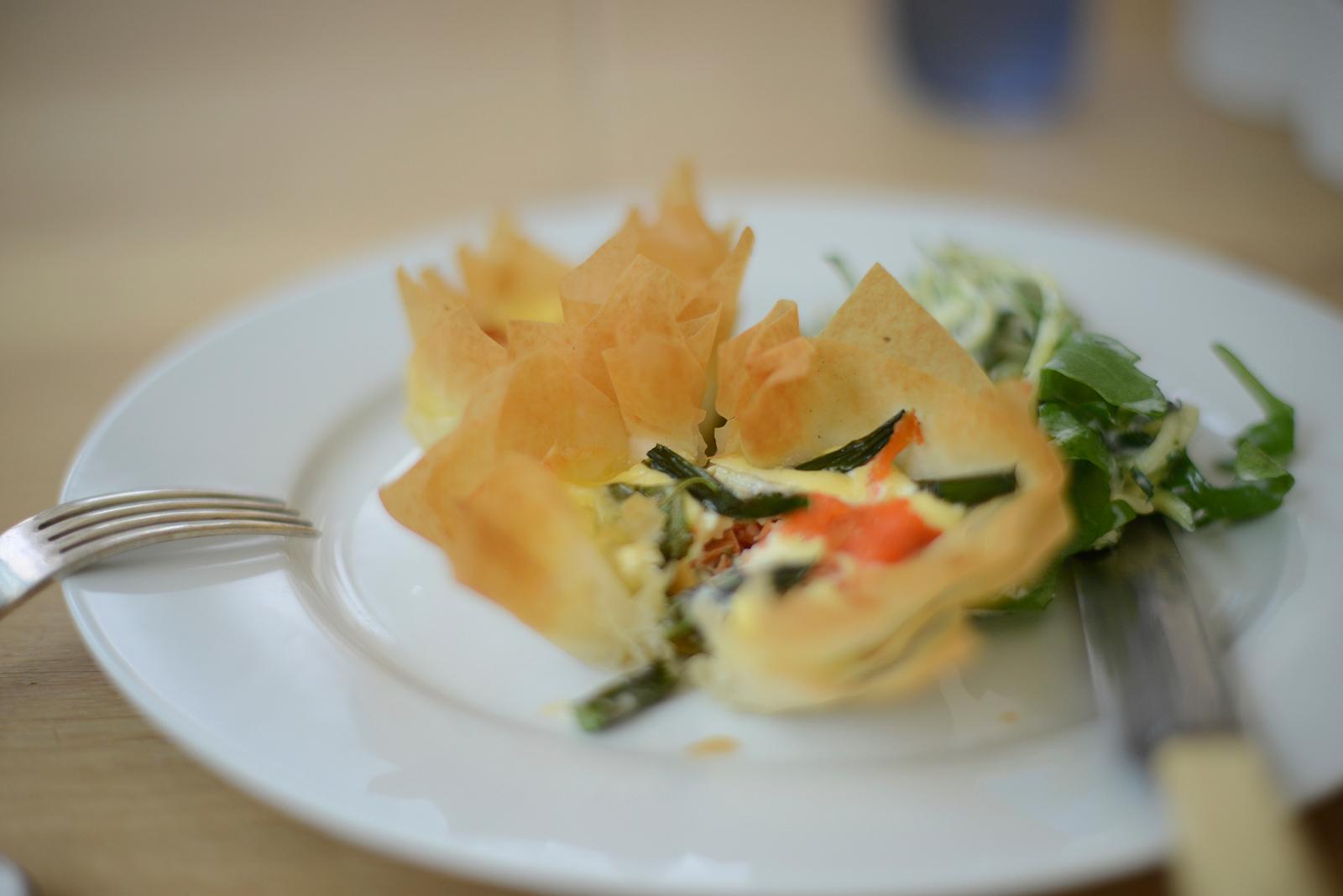 summer tartletts recipe