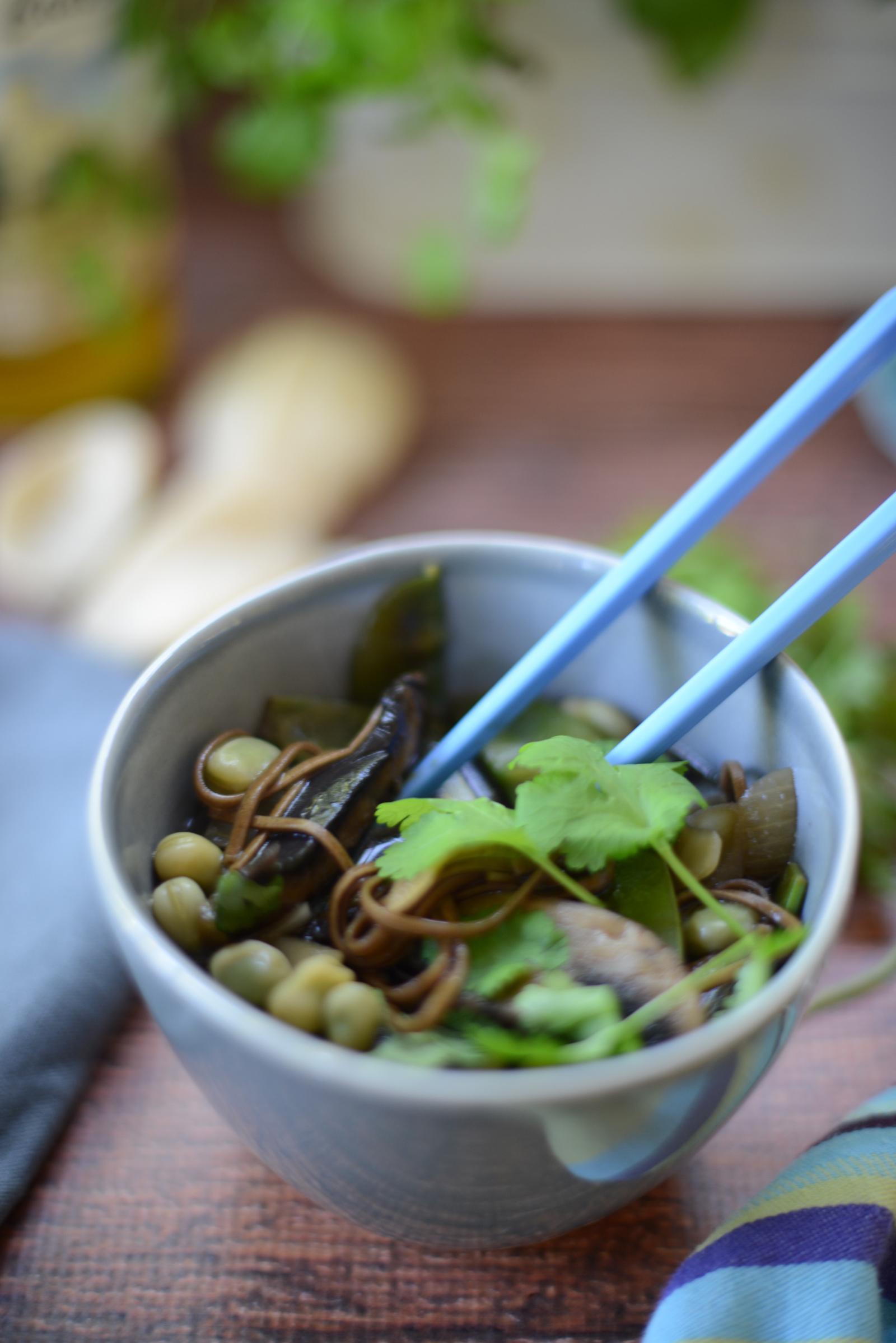 mushroom ramen recipe by ruby & kind photographed by sara delaney